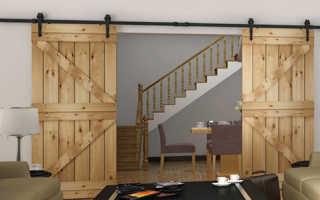 Раздвижные двери в комнату разнообразят дизайн