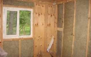 Как установить пластиковое окно в каркасном доме?