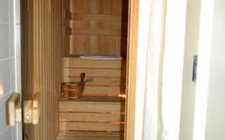 Сауна на балконе своими руками: этапы подготовки