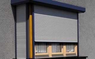 Рольставни на балкон: сооружение шкафа и преимущества конструкции