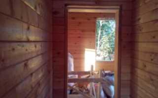Как правильно сделать окосячку дверных проемов в деревянном доме