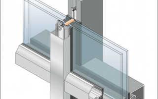 Структурное фасадное остекление — оригинальное и функциональное решение