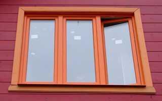 Виды трехстворчатых окон и типовые размеры