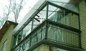 Фасадное остекление крыш балконов, лоджий, веранд