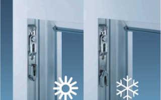 Летний и зимний режимы пластиковых окон — правильная настройка фурнитуры
