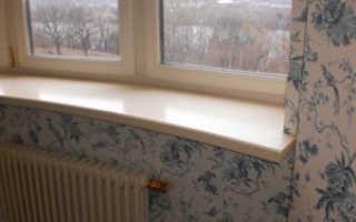 Как поставить подоконник к пластиковому окну своими руками?