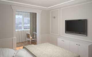 Дизайн комнаты с балконом (лоджией): выбор стиля