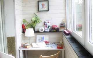 Дизайн маленького балкона от света до мебели