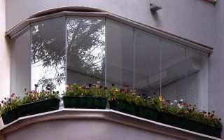 Остекление полукруглых балконов: новые варианты
