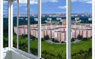 Алюминиевые балконные рамы: преимущества и виды
