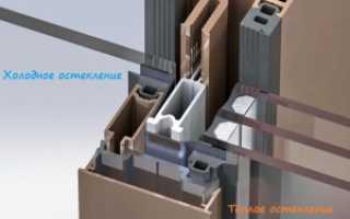 Теплое фасадное остекление, как заменить холодное остекление на теплое