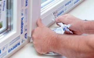 Как очистить пленку с пластиковых окон
