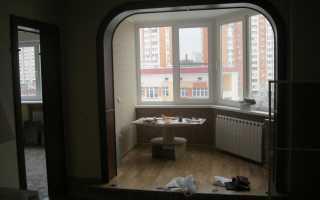 Объединение балкона с комнатой: необходимая информация