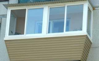 Балкон с выносом: остекление и дополнительные 30-50 см