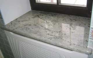 Подоконники из мрамора — оригинальное решение для оформления интерьера