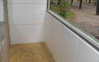 Утепление балкона и лоджии пенополистиролом: приступаем к работе