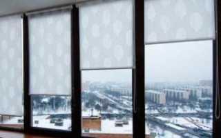 Как сделать своими руками рулонные шторы на пластиковые окна