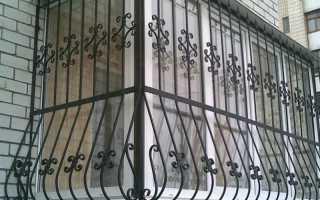 Решетки на балкон и лоджию: варианты исполнения