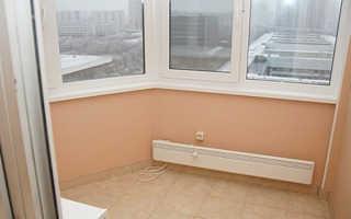 Обогрев балкона: инфракрасное, радиаторное, электрическое