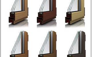 Коричневые пластиковые окна в интерьере вашего помещения