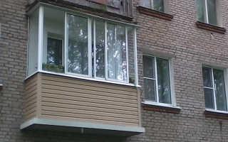 Остекление балконов в хрущевке: этапы работ