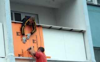 Как и чем утеплить балкон снаружи,технология утепления конструкции