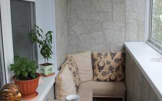 Балкон в хрущевке: дизайн