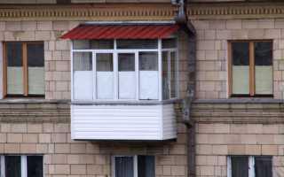 Крыша на балкон: кровельные материалы и примеры