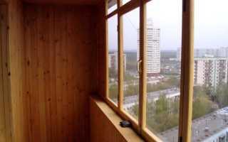 Остекление балконов деревянными рамами: плюсы и минусы