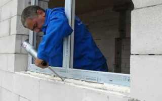Как правильно закрыть монтажную пену снаружи окна
