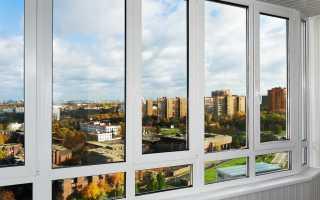 Остекление балконов пластиковыми окнами: за и против