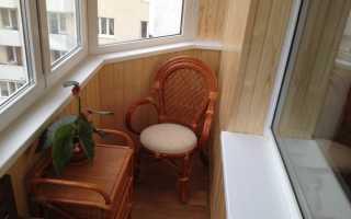 Отделка балкона ламинатом: плюсы и минусы