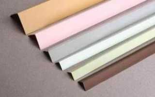 Пластиковый уголок для откосов на окна ПВХ, цены, фото