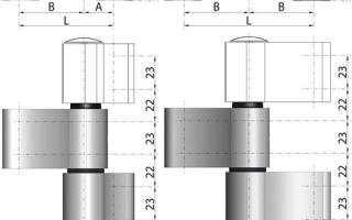 Как производится регулировка накладных петель