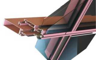 Полуструктурное остекление фасада, цена полуструктурного фасадного остекления