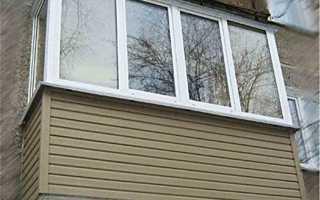 Обшивка балкона сайдингом: внутренняя и внешняя