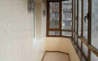 Отделка балкона гипсокартоном: этапы