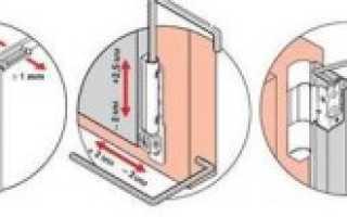 Регулировка пластиковых балконных дверей, ремонт двери на лоджию