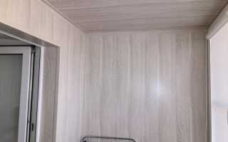 Отделка балкона МДФ панелями: инструкция по шагам
