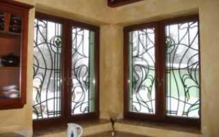 Витражные окна в частном доме — виды, классификация, принцип изготовления