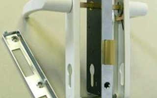 Разновидности и монтаж замков для пластиковой двери