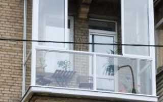 Французское остекление на балкон, что нужно знать перед установкой