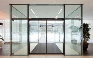 Установка автоматических раздвижных дверей — особенности выбора