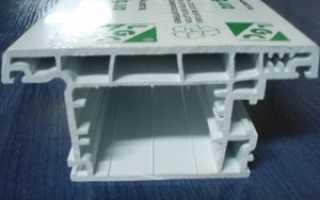 Пластиковый блок LGC, описание профиля LGC для пластиковых окон