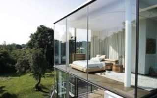 Панорамные окна в частном доме — преимущества и недостатки