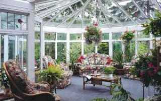 Дизайн зимнего сада, зимний сад в коттедже и многоквартирном доме