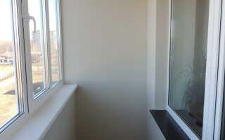 Гидроизоляция балкона от пола до потолка