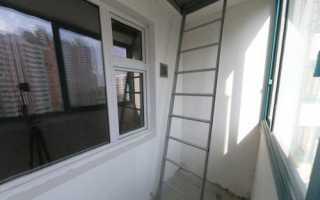 Пожарная лестница на балконе: дизайн и безопасность