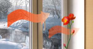 Зачем нужны теплые стекла?