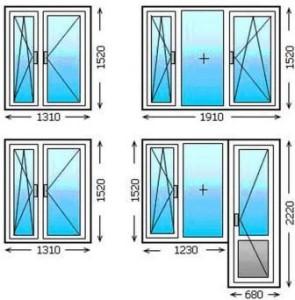Размер окна в хрущевке